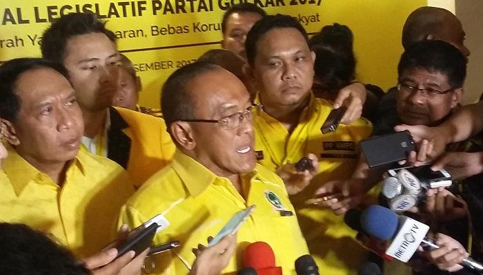 Ketua Dewan Pembina DPP Partai Golkar, Abu Rizal Bakri (ARB). Foto: Ucok Al Ayubbi/ NusantaraNews