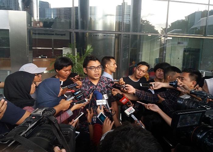 Kabag Pemberitaan dan Publikasi KPK, Priharsa Nugraha. Foto: Restu Fadilah/NusantaraNews