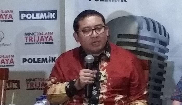 Wakil Ketua DPR RI, Fadli Zon saat menjadi pembicara pada diskusi di kawasan Cikini, Jakarta Pusat, Sabtu (9/12/2017). Foto: Dok. NusantaraNews/ Ucok Al Ayubbi