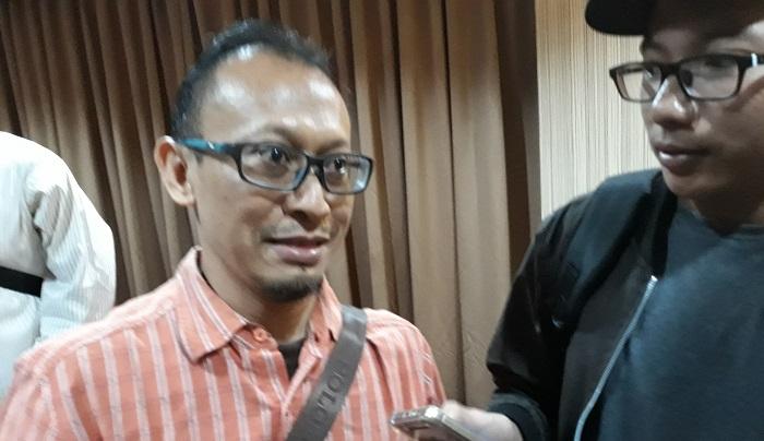 Analis Politik Exposit Strategic, Arif Susanto. Foto Ucok Al Ayubbi/ NusantaraNews