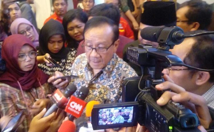 Akbar Tanjung (Foto: Ucok A/Nusantaranews)