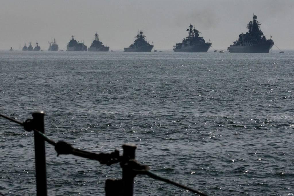 Kapal perang angkatan laut Rusia bertolak ke pelabuhan Tartus, Suriah untuk menempatinya sebagai pangkalan Angkatan Laut. Foto: Russian naval exercise/File photo