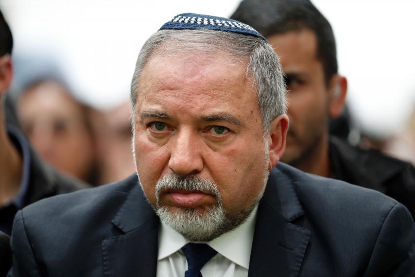Menteri Pertahanan Israel, Avigdor Lieberman. Foto: Thomas Coex/AFP/Getty Images