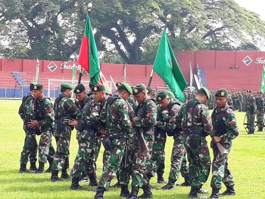 Peleton Tangkas Peringati Peristiwa Penting 19 Desember 1948, atau hari korps infanteri TNI-AD. Foto: Istimewa