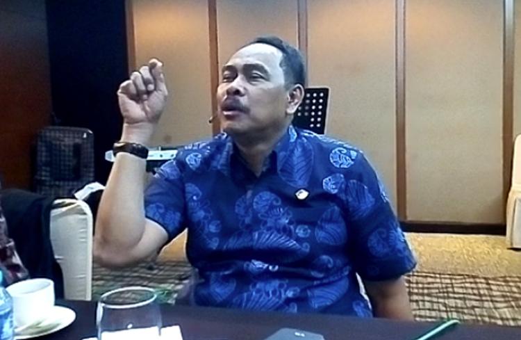 Wakil Ketua BPK, Bahrullah Akbar (Foto: Adhon/Nusantaranews.co)