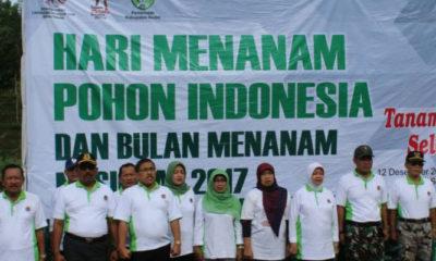 Bulan Menanam Nasional 2017 (Foto Dok. Nusantaranews)