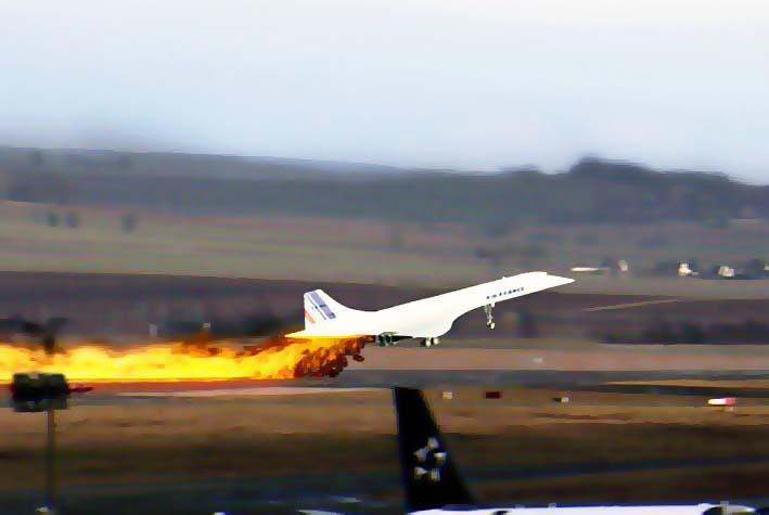 Tragedi Jet Penumpang Concorde/Foto: sportingz.com