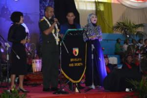 Mayjen TNI arif Rahman dalam acara tasyakuran HUT Kodam Brawijaya ke-69 dan peringatan Hari Juang Kartika ke-72 tahun 2017. Foto: Dodiet/NusantarNews/Pendam