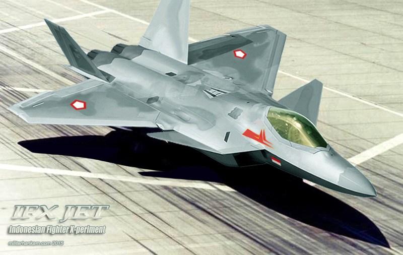 Desain pesawat tempur KFX/IFX. Foto: Istimewa