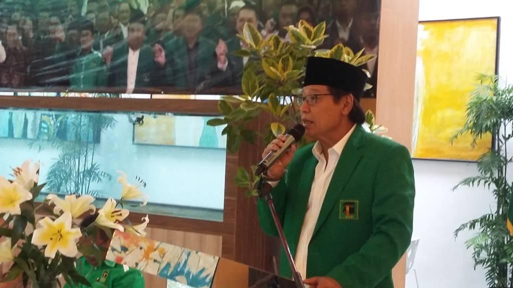 Ketua Umum Partai Persatuan Pembangunan (PPP) Djan Faridz. Foto: NUSANTARANEWS.CO/Ucok Al Ayubbi