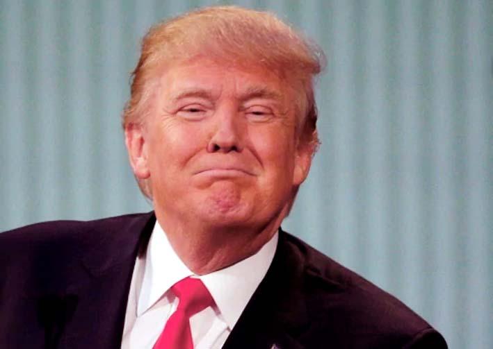 Presiden Donald Trump Gembira Dengan Kemenangan Partai Republik/Foto standard.co uk