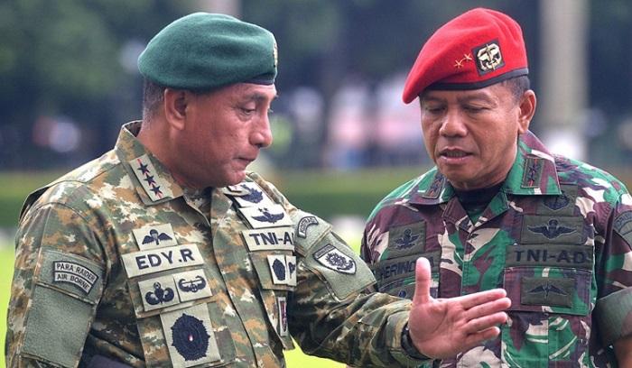 Jenderal, putra pejuang, Edy Rahmayadi. Foto: Dok. Antara