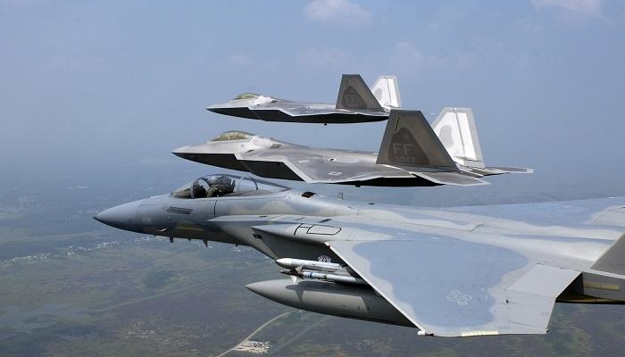 Angkatan Udara AS kirim 6 unit pesawat tempur F-22 Raptor ke Korea Selatan. Foto: US Air Force/Sgt. Ben Bloker