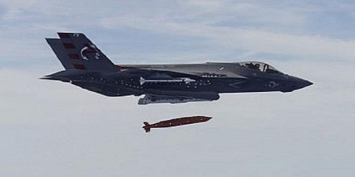 pesawat tempur siluman generasi kelima Amerika Serikat F-35A F-35A Lightning II. Foto: US Navy