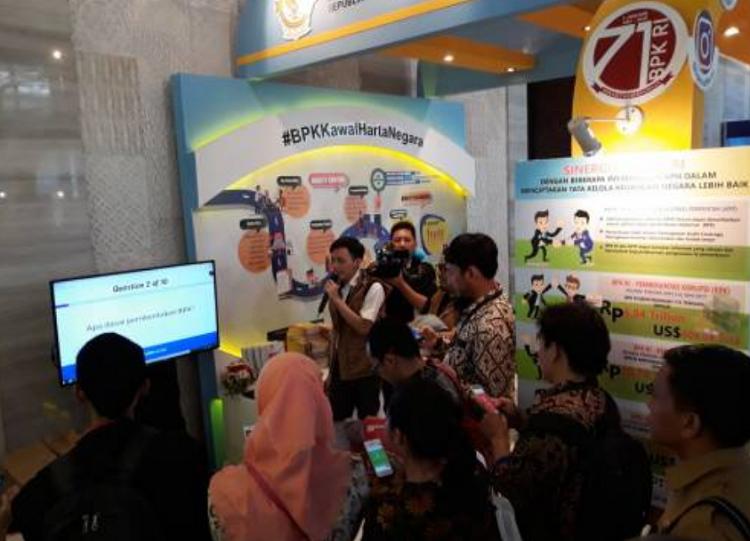 Hakordia 2017 oleh BPK RI (Foto Istimewa/Nusantaranews)
