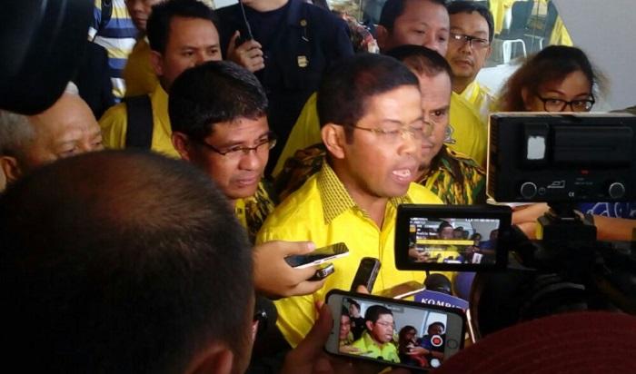 Plt. Ketua Umum Partai Golkar Idrus Marham. Foto Uco Al Ayubbi/ NusantaraNews