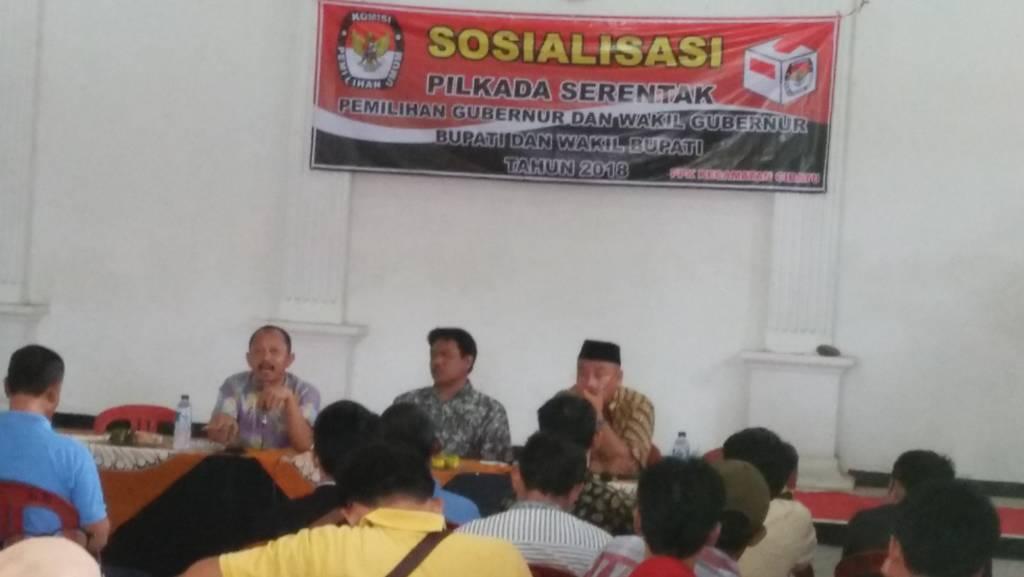 KPUD Purwakarta mulai gencar melakukan sosialisasi Pilkada Serentak 2018. Foto: Fuljo/NusantaraNews