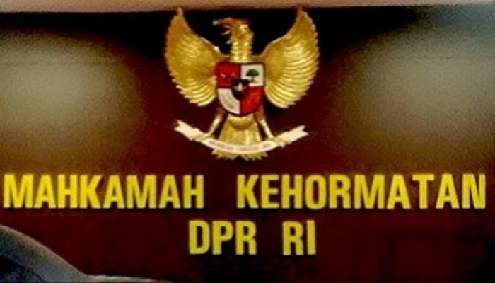 Mahkamah Kehormatan Dewan (MKD). Foto: Istimewa