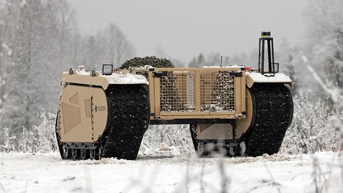 Sistem Perang Otonom Milrem Robotics di Medan Perang. Foto: Dok. businesswire.com