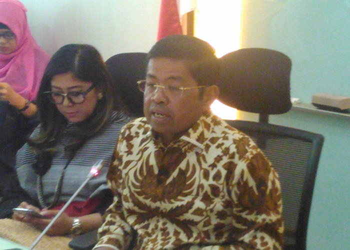 Plt Ketua Umum Partai Golkar Idrus Marham dukung Marsekal HAdi Tjahjanto menjadi Panglima TNI. Foto: Ucok Al Ayubbi/NusantaraNews