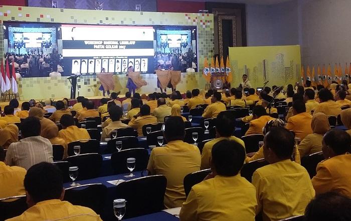 Workshop Nasional Legislatif Fraksi Partai Golkar (Foto: Ucok A/Nusantaranews.co)