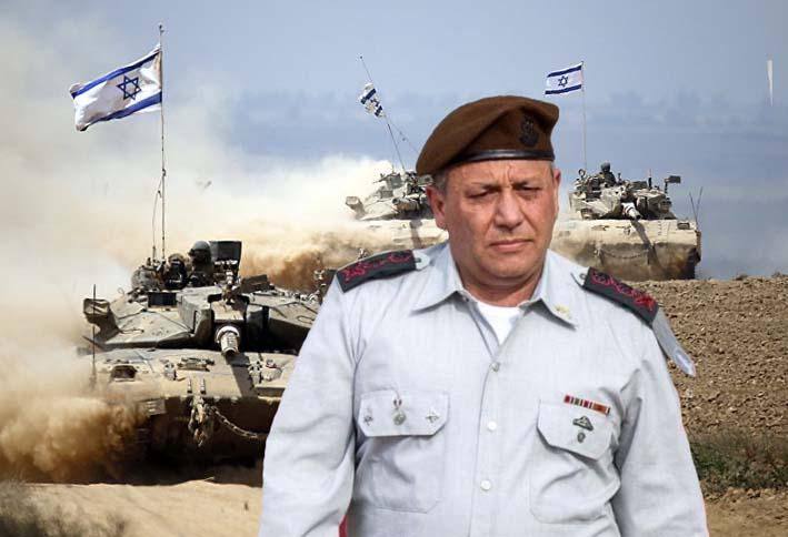 Kepala Staf Umum Pasukan Pertahanan Israel Letnan Jenderal Gadi Eisenkot
