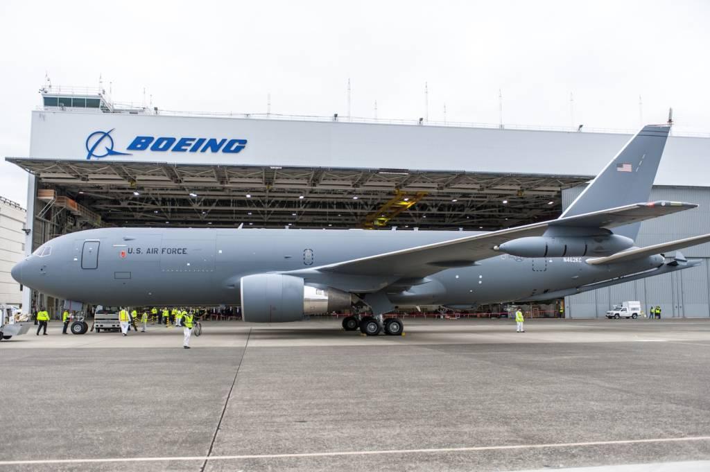 Tentara Bela Diri Jepang (JASDF) difasilitasi pesawat tanker KC-46A produk Boeing. Foto: Boeing