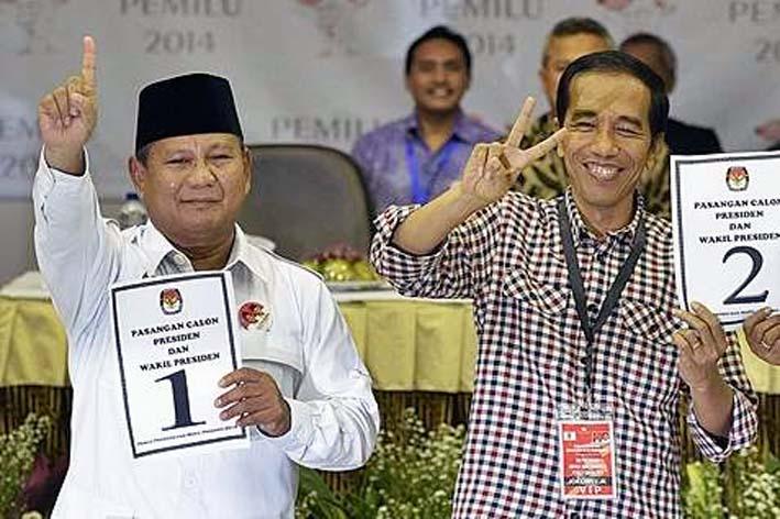 Prabowo Nomor 1 dalam Pilpres 2014/Foto: Surabaya.bisnis.com