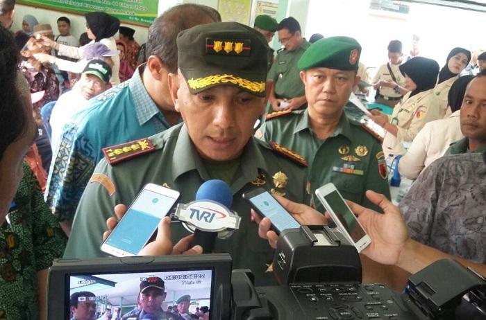 Korem 084/Bhaskara Jaya Komando Kolonel Kav M. Zulkifli (Foto Istimewa/Nusantaranews)