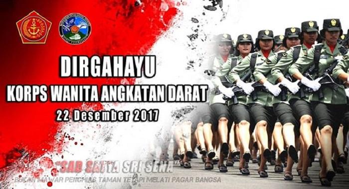 Prajurit Korps Wanita Angkatan Darat (Kowad). Foto: Dok. Puspen TNI