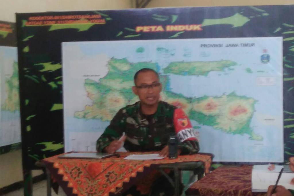 Skenario Yonif 511/DY melaksanakan operasi lawan insurjensi untuk mendukung tugas operasi Kodam V/Brw. Foto: Wahyu/Istimewa