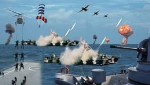 Latihan Gabungan (Latgab) TNI 2013, untuk meningkatkan profesionalisme Prajurit TNI dalam melaksanakan Operasi Militer Gabungan. Foto: Dok. Koarmabar