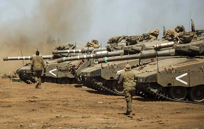 Latihan Militer Israel/Foto: sputnik