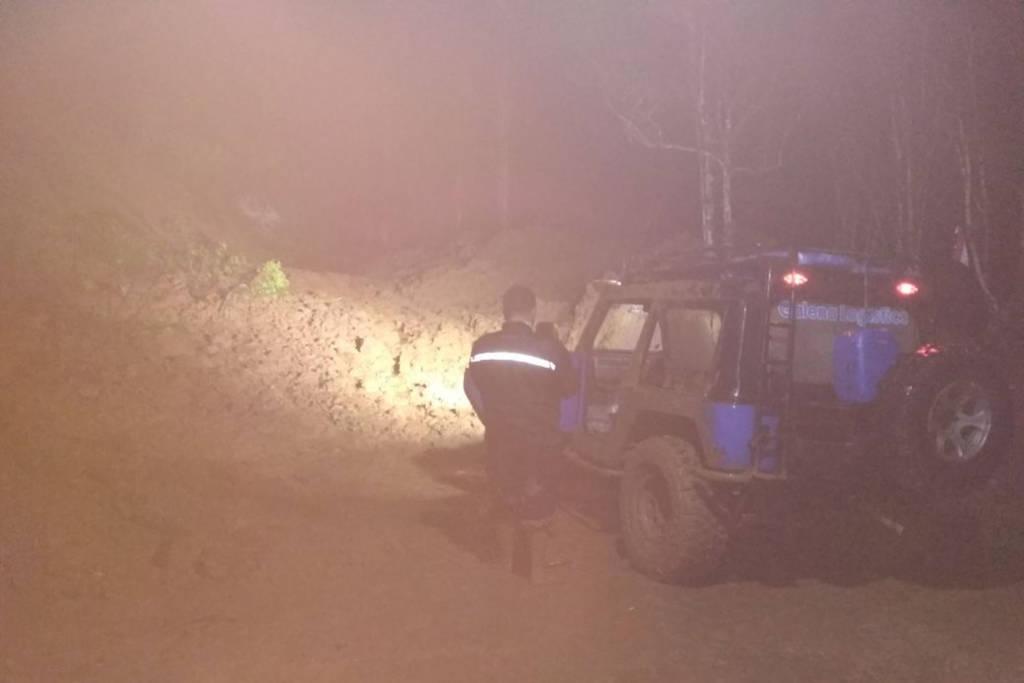 Tanah longsor di Kecamatan Arjosasi, Kabupaten Pacitan pada Rabu 20 Desember malam. Foto: Edi