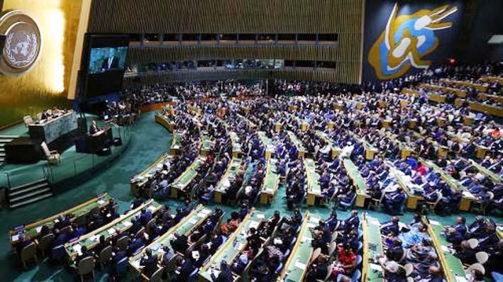 Sidang Majelis Umum PBB/Foto: zerohedge.com