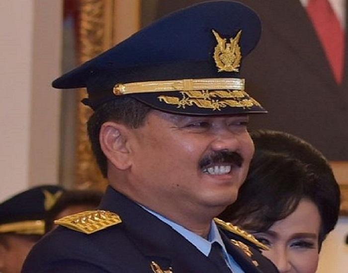 Marsekal TNI Hadi Tjahjanto calon tunggal Panglima TNI. Foto: Antara