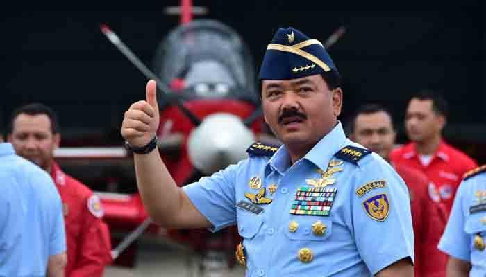Marsekal TNI Hadi Tjahjanto calon tunggal Panglima TNI. Foto: Istimewa