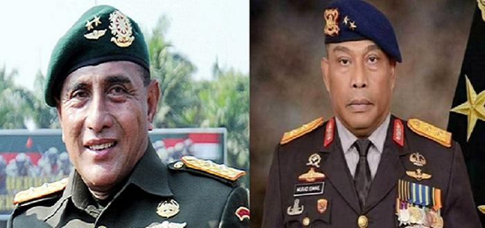 Pangkonstrad Letjen TNI Edy Rahmayadi dan Komandan Korps Brimob Irjen Murad Ismail. Foto: Istimewa