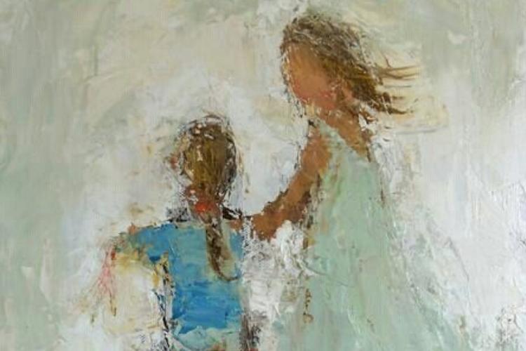 Oil & Mixed Media Holly Irwin, artist · Love PaintingArt