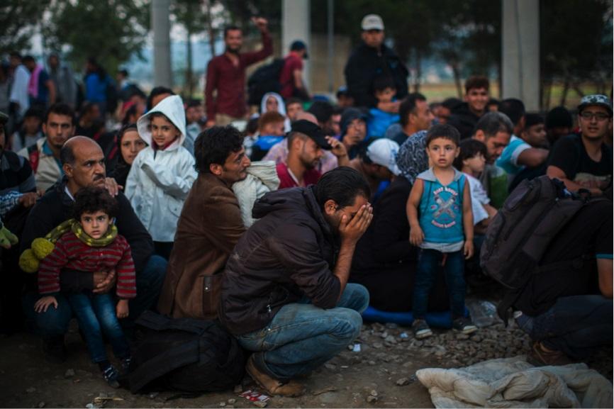 Para Pengungsi Suriah. Foto: Santi Palacios/Associated Press