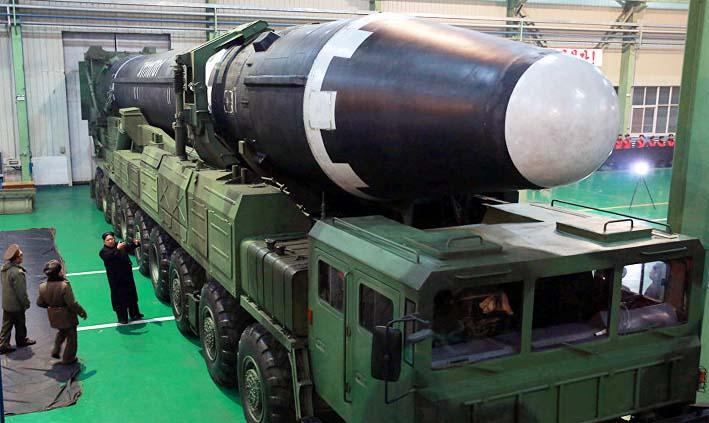 Rudal Balistik Korea Utara/Foto: sputnik