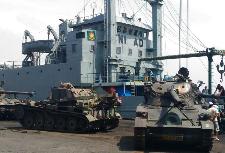 Tank Tempur AMX-13 (Foto Istimewa/Nusantaranews)