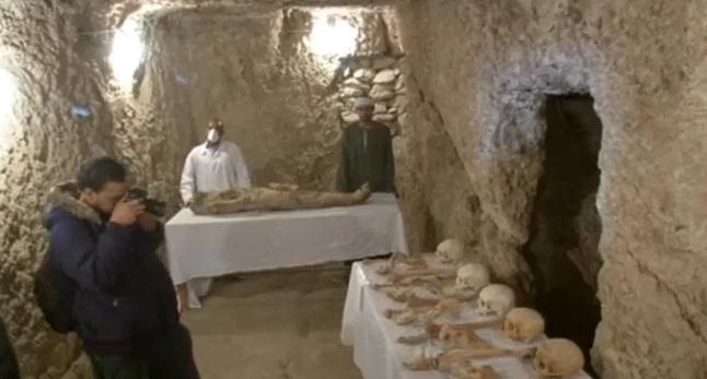 Temuan Mumi di Makam Kuno Mesir (Foto ABC)