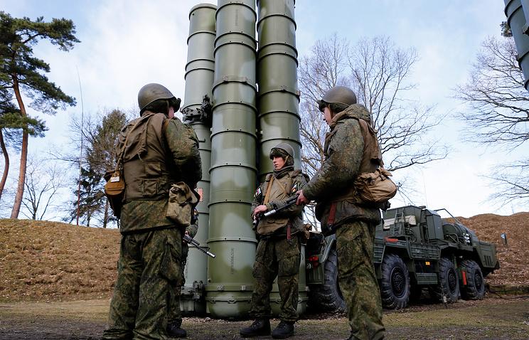Batalyon pertahanan udara Rusia dipersenjatai Triumf S-400. Foto: Vitaliy Nevar/TASS