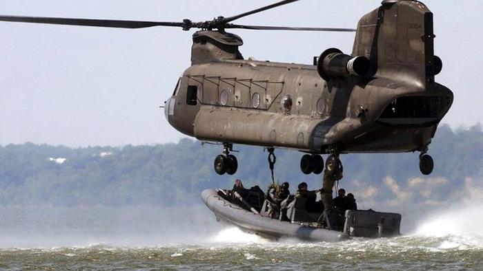 Helikopter angkut besar Chinook. FOto: DOk. Istimewa