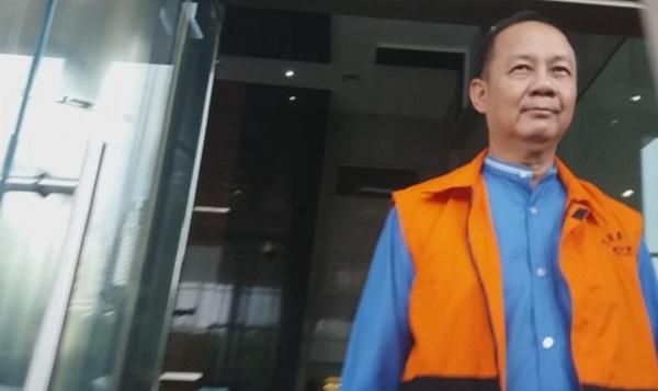 Tersangka kasus BLBI Syafruddin Arsyad Tumenggung. Foto Restu Fadilah/ NusantaraNews