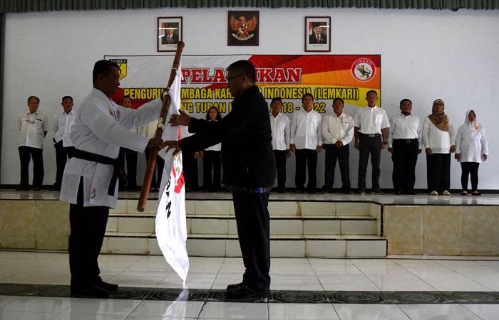 Letkol Inf Nur Wicahyanto terpilih sebagai Ketua Umum Lemkari Cabang Tuban. Foto: Dok. Istimewa/NusantaraNews