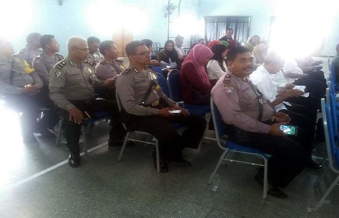 Pertemuan terkait keberadaan Satgas PPA (Perlindungan Perempuan dan Anak) se-Kecamatan Kota