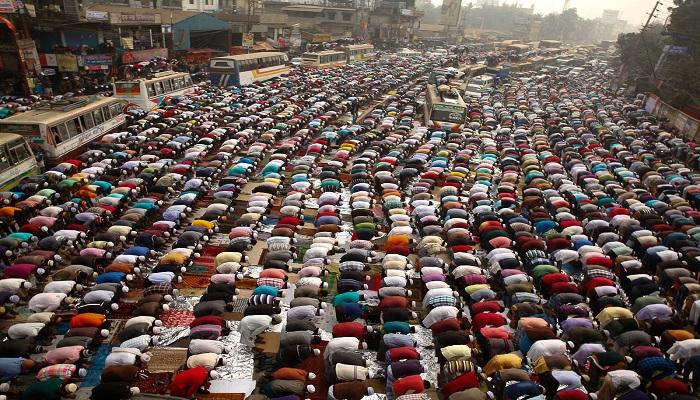 2 Juta umat Muslim adakan pertemuan, Biswa Ijtema di tepi Sungai Turag, sekitar 35 kilometer dari ibu kota Bangladesh, Dhaka. Foto: Dok. Al Jazeera