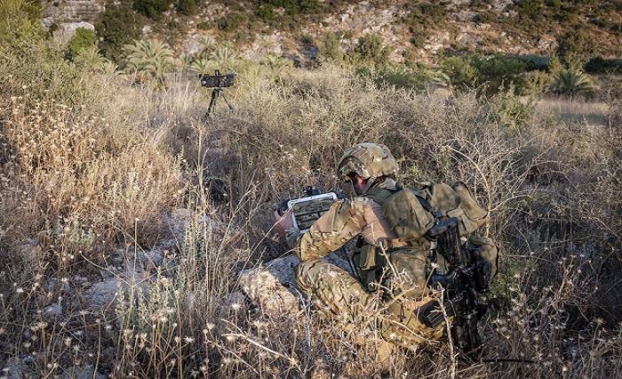 Tentara Israel mengoperasikan Supervisir yang dapat dioperasikan dari berbagai platform melalui antarmuka pengguna khusus atau jaringan C2I. Foto: Israel Defense Force